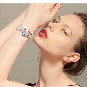 Jewelry - Nwt Stainless Steel Aromatherapy Bracelet Band